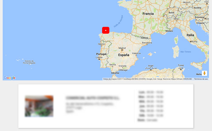 Google Maps PrestaShop 1.7
